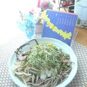 レッドペパー&彩り野菜の冷製そば