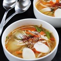 BRITAの水で作る世界の料理レシピ 「もやしのピリ辛みそスープ」