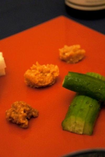 味噌もテロワール、国産大豆味噌を食べ比べ、鯖の味噌山椒漬けで味噌とブルゴーニュの夕べ