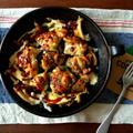 鶏ときのこのうまトマチーズ焼き