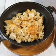《レシピ》炊飯器にお任せ・厚揚げの炊き込みご飯。~ぶっ壊れ~