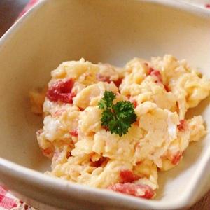卵+αで作る!簡単「炒り卵」で楽ウマ一品