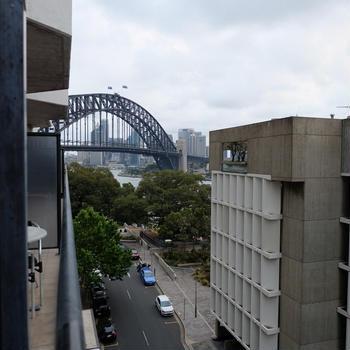 オーストラリア ブリスベンとシドニー旅行 12日間 シドニーの宿 ミルソン エグゼクティブ アパートメンツ