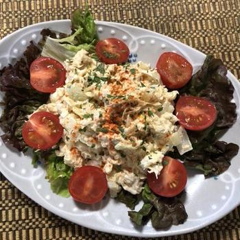 タイム風味のチキンサラダ – Chicken Salad with Thyme –