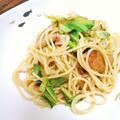 柚子胡椒たっぷり★鶏肉のさっぱり和風パスタ