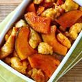 鶏肉とかぼちゃの甘酢炒め