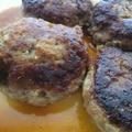 お箸で食べる照焼ハンバーグ タバスコ(R)ブランドペパーソース