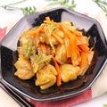 片栗粉のとろみを利用!鶏肉と旬野菜の炒め物