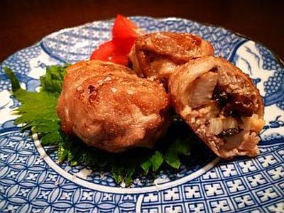 【昆布レシピ】コロンとかわいい☆山芋と塩昆布の豚肉巻き