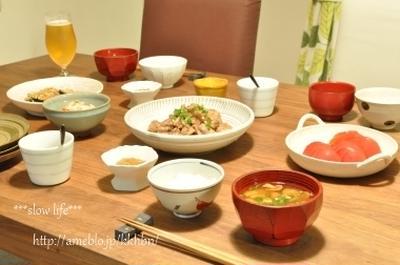 【filleさんの*鶏とクルミの中華煮、と蒟蒻の明太マヨ和え】