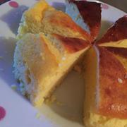 ホットケーキミックスでチーズケーキ♡!