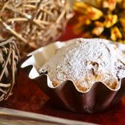 【お豆腐で作る シュトーレン マフィン】クリスマスになると食べたくなるあのシュトーレンをマフィンカップで!