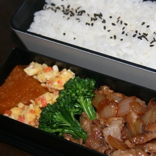 1月12日  豚肉の甘辛炒め弁当