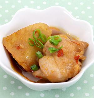 ☆鶏肉とさつまいもの豆板醤煮☆