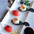 パルミジャーノ・レッジャーノのひとくちお鮨  和イタリアン by 青山 金魚さん