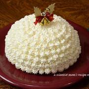ドーム型レアチーズケーキ