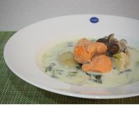 【レシピ】サーモンミルクスープ♪
