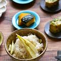 たけのこたっぷり♪基本の笹竹(姫たけのこ)ご飯