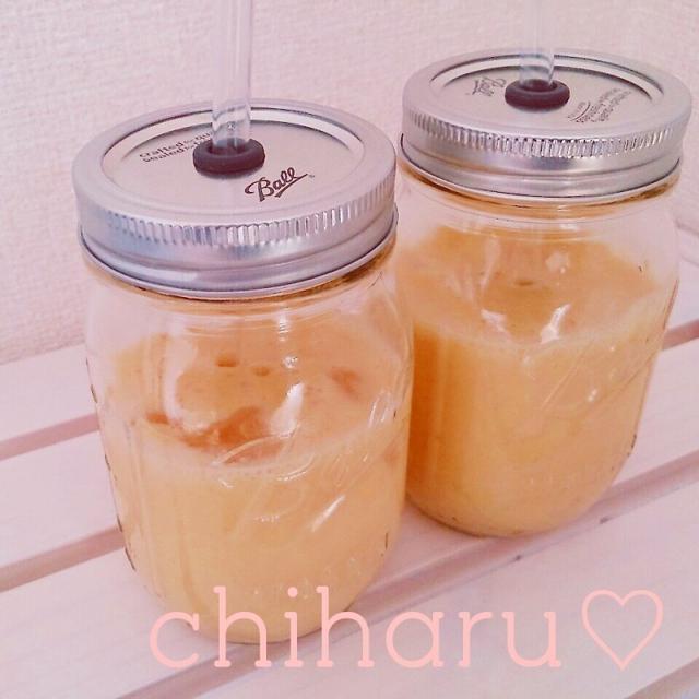 【喫茶店風♡】【再現】美味しいミックスジュースの作り方♡