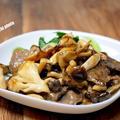 想定外の美味しさです「牛もも肉のオイスタークリーム煮」&「新しい土鍋は少し小さめ」