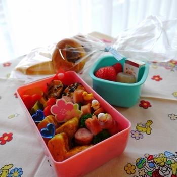 幼稚園最後のお弁当(年長さん3月)