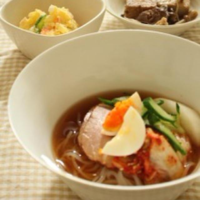 盛岡冷麺で晩ごはん&今日のお弁当