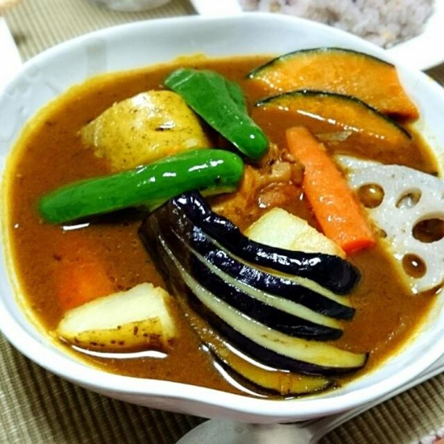本格的にスープカレーをお家で食べたい!スープカレーのレシピはコチラから♪人気のレシピです。