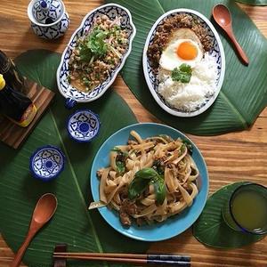 何を盛り付けても可愛く見える!「#タイ食器」の活用術