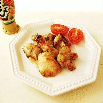 鶏肉のわさび焼き