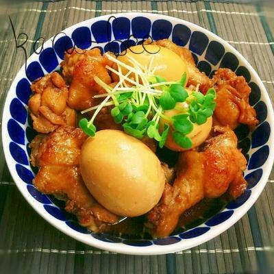 お肉やわらか味染みっ染み♡鶏手羽の中華風さっぱり煮
