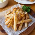 【長芋】あっという間のおつまみ!カリほくポテト。
