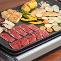 秋を味わう鮭と焼肉のホットプレートレシピ by KOICHIさん