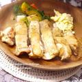 <鶏肉のオリーブオイル焼き バルサミコ風味>