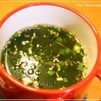 [ちょいたしアレンジ] わかめの生姜スープ レシピ