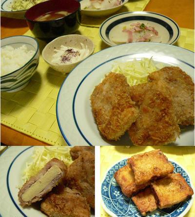 *高野豆腐カツ*など~、晩御飯7日分