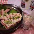日本酒に合う生姜☆みそでまぐろのステーキ