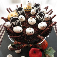 【spooky halloween tart/ティラミスタルト】☆ハロウィンパーティー