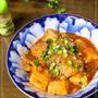 さば水煮缶と高野豆腐のケチャップ煮