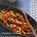 米油と野菜だけ作る♪具材少な目♪五目豆 by Runeさん