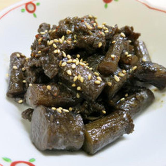 ごぼうと牛肉の佃煮