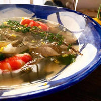 +*わかめスープでちょいたしレシピ+*②スパイシーねぎ塩アジアンスープ