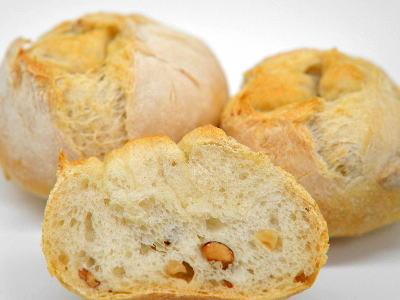 ヘーゼルナッツとアーモンドのハードパン