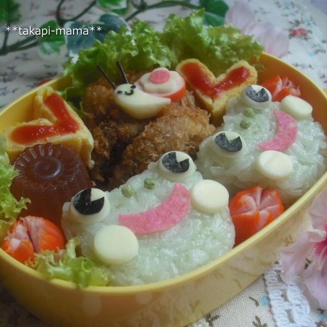 幼稚園ねっとさん掲載のお弁当♪