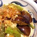 茄子とおくら・豆腐のさっぱり炒め煮♪【スパイス大使】 by ぺるしゃんさん