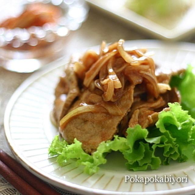 豚肉のソースケチャマリネ