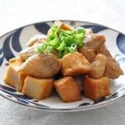 【作り置きレシピ】甘辛いタレがごはんにぴったり!鶏肉と厚揚げの甘辛焼き