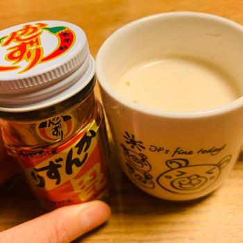 かんずりのホットミルク