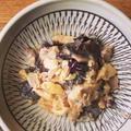 木耳とツナの玉子焼き餡かけ
