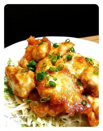 鶏のピリ辛味噌焼き☆むね肉でも柔らか♪(再)と暮らしのアンテナ