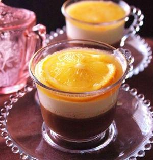 贅沢ショコラのオレンジムース。